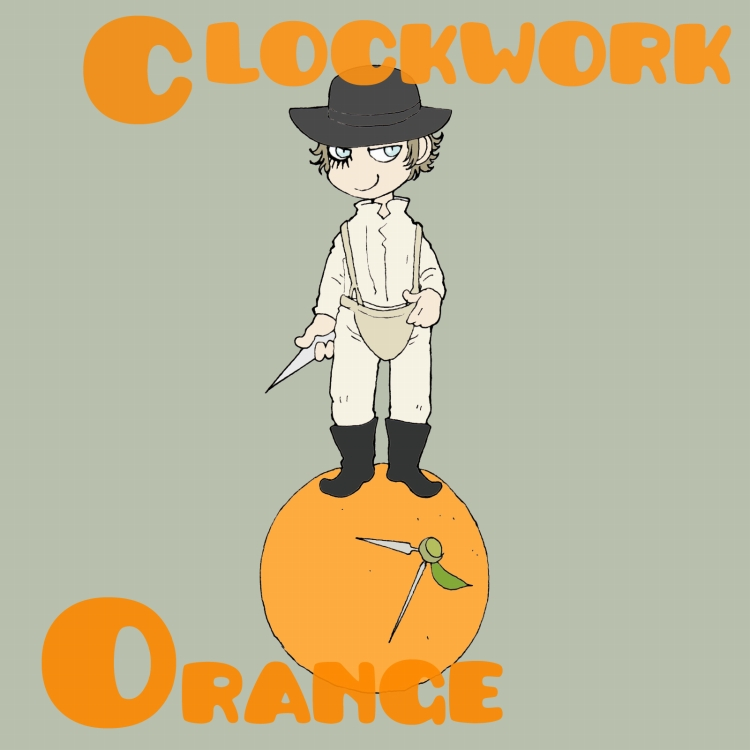 Clockwork Orange by matsutakedo