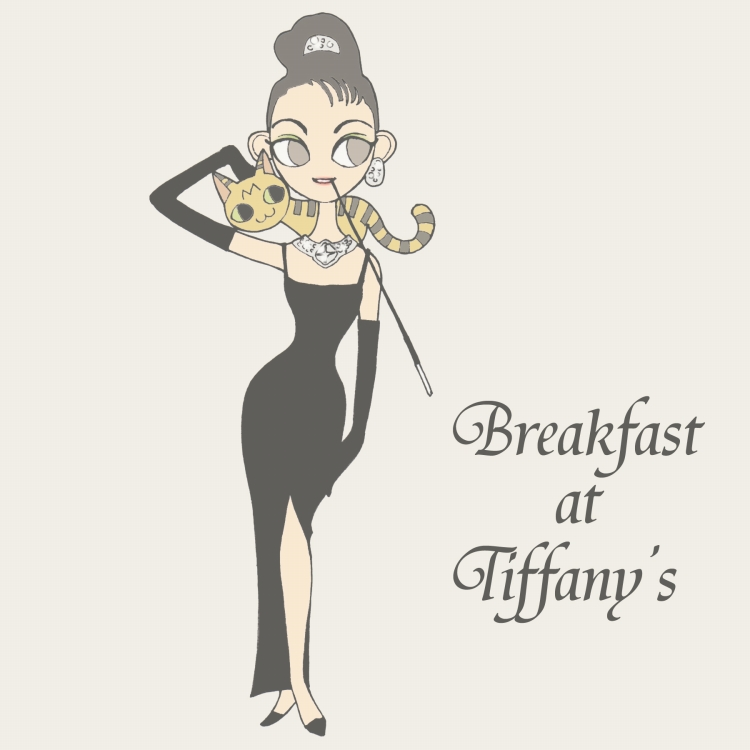 Breakfast at Tiffany's B by matsutakedo