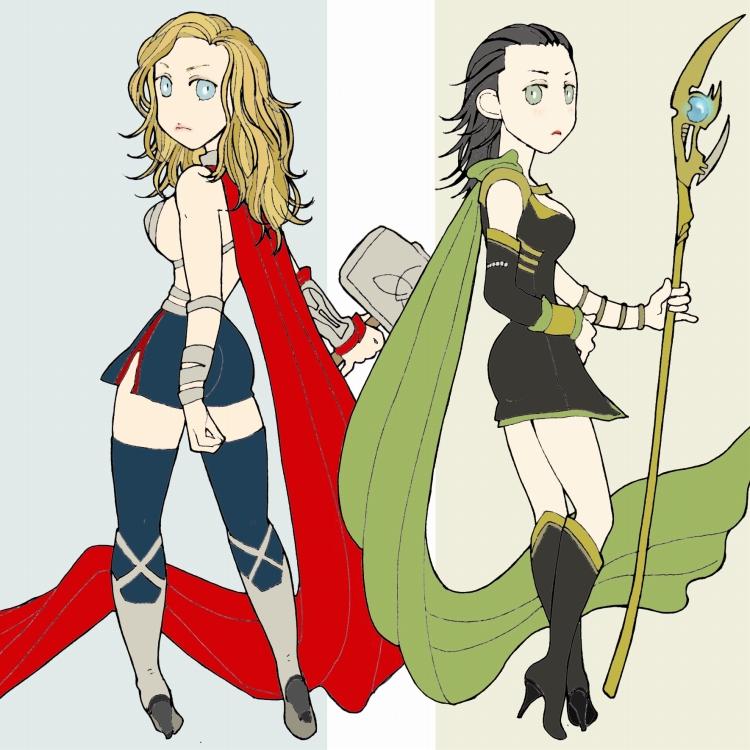Avengers 9+10 by matsutakedo