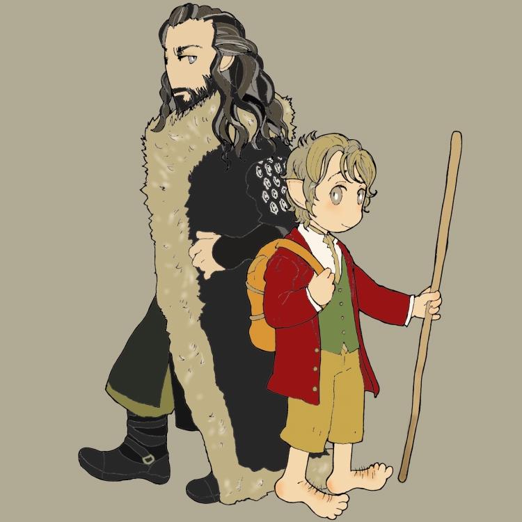The Hobbit 01 by matsutakedo