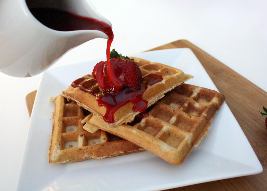 Strawberry Waffle 3 by laurenjacob