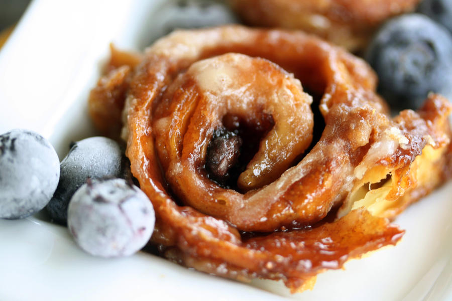 Blueberry Brown Sugar Rolls 3 by laurenjacob