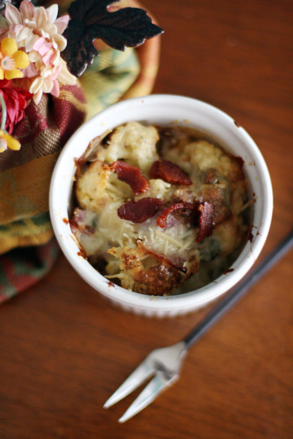 Roasted Cauliflower Gratin by laurenjacob on DeviantArt