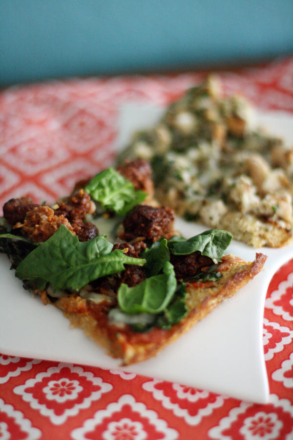 Sausage Spinach Pizza by laurenjacob
