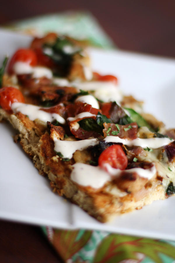 Chicken Bacon Blue Pizza by laurenjacob