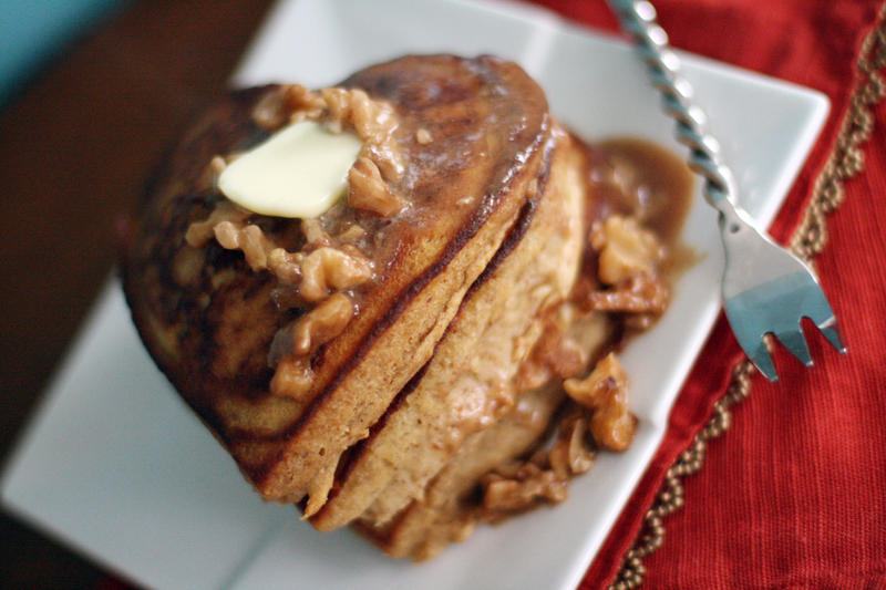 Apple Ginger Pancakes by laurenjacob