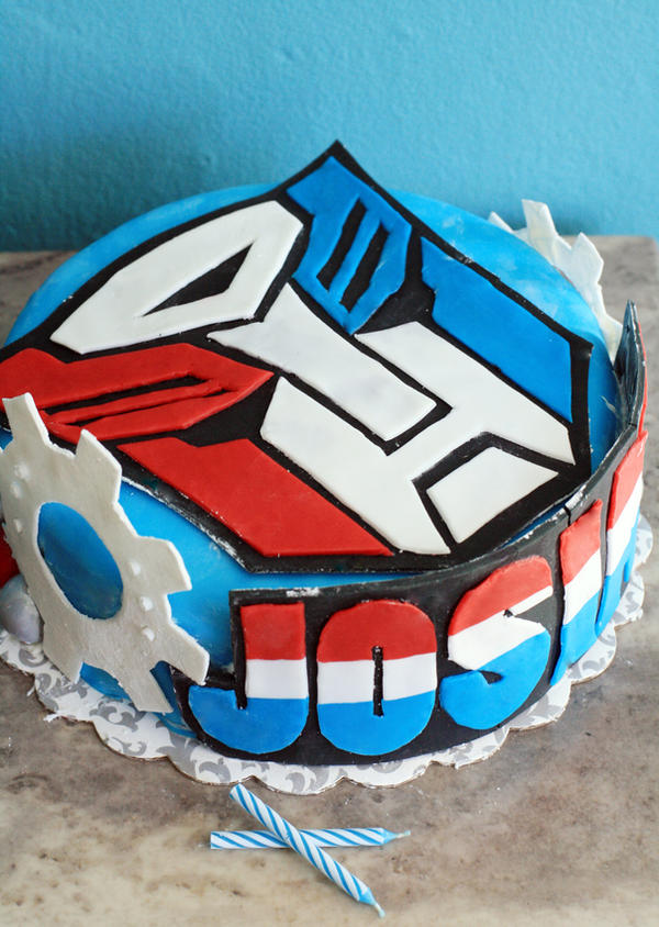 Baby's Birthday Cake by laurenjacob