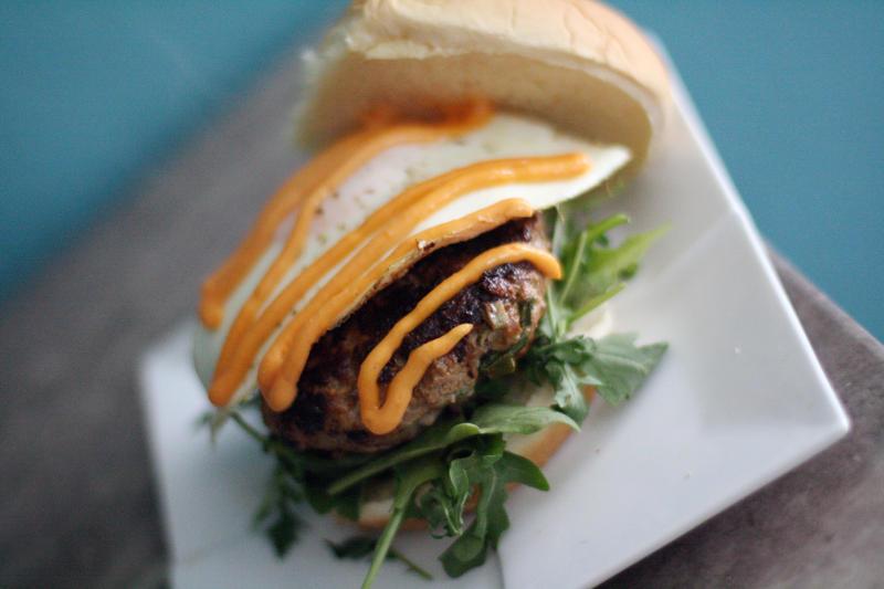 Asian Burger by laurenjacob