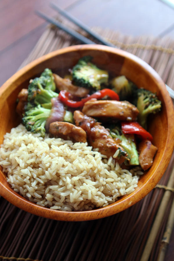 Chicken and Broccoli by laurenjacob
