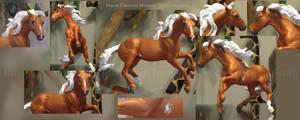Flaxen Chestnut Minimal Sabino Mustang