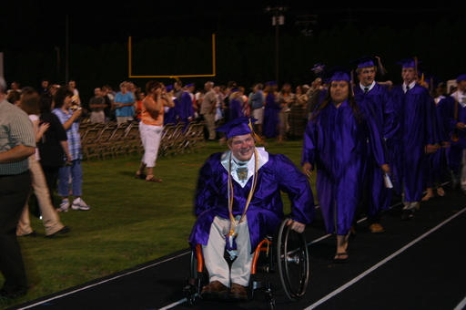he walked across the stage by youngcato