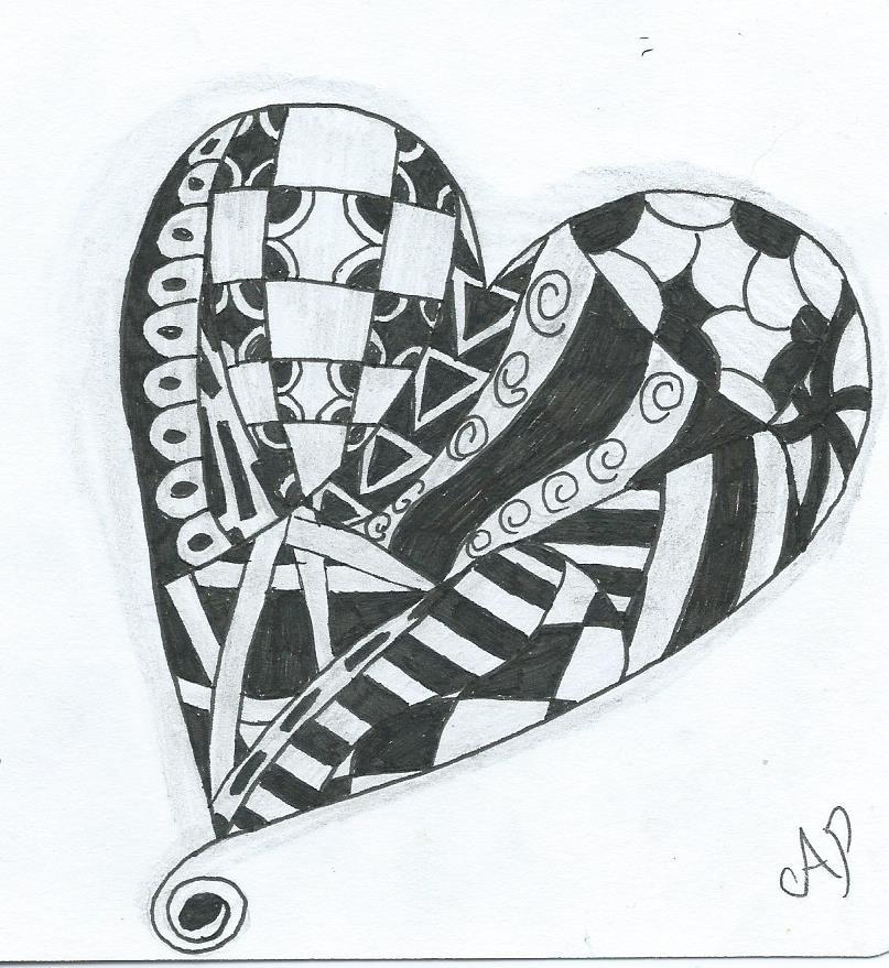 Zentangle by violetemo16