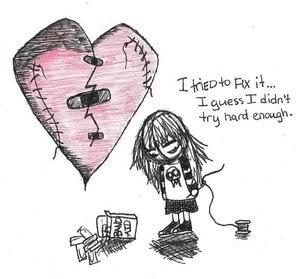 broken heart by Aaronfanatic