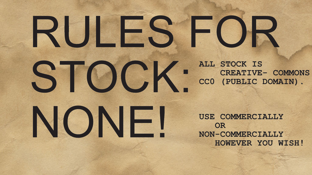 RULES FOR STOCK