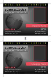 Nexlinx ID Card Design by zaighamz