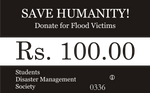 Flood Relief Coupon