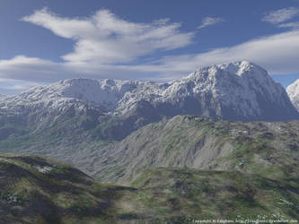 Mountains by zaighamz
