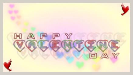 Valentine Day Card by zaighamz