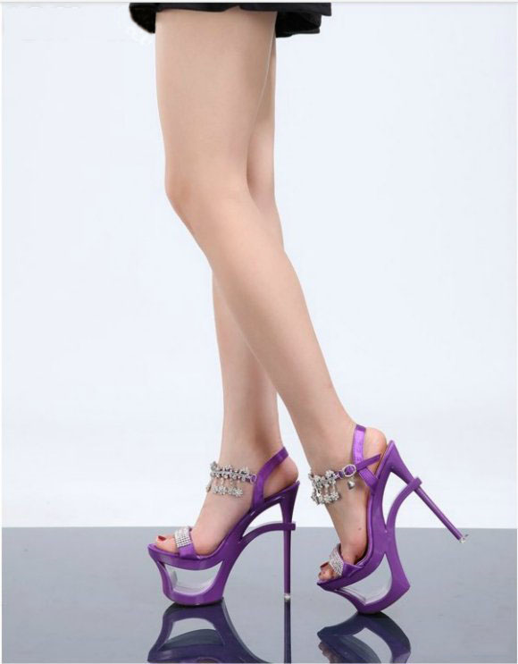 My High Heels Purple 1.. by shahAnkit