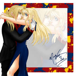 Mine: EdwardxWinry by SassyLilPanda