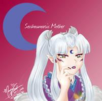 Sesshoumaru's Mother by SassyLilPanda