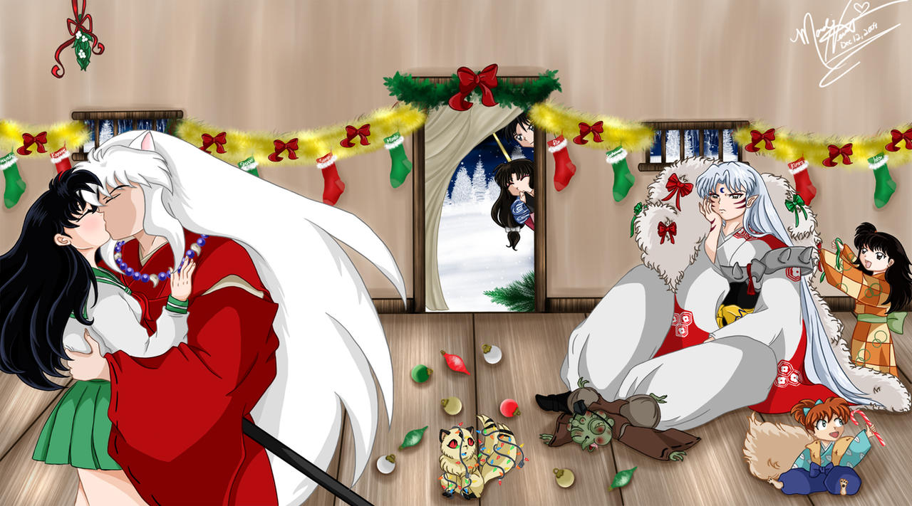 A Merry Inuyasha Christmas by SassyLilPanda on DeviantArt