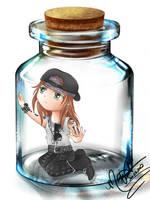 Axl in a Jar by SassyLilPanda