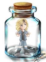 Duff in a Jar by SassyLilPanda