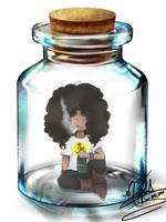 Slash in a Jar by SassyLilPanda