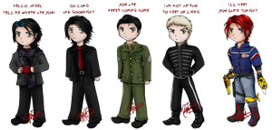 Chibi Gerard Way