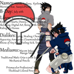 Sasuke Uchiha DA ID