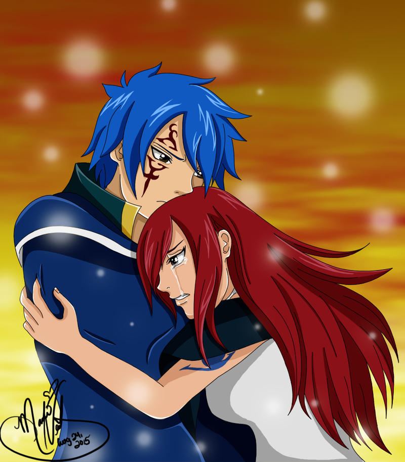 Don't Cry Erza by SassyLilPanda