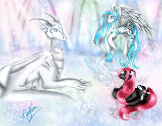In the Crystal Cave by SassyLilPanda