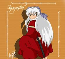 Inuyasha in a Bandanna by SassyLilPanda