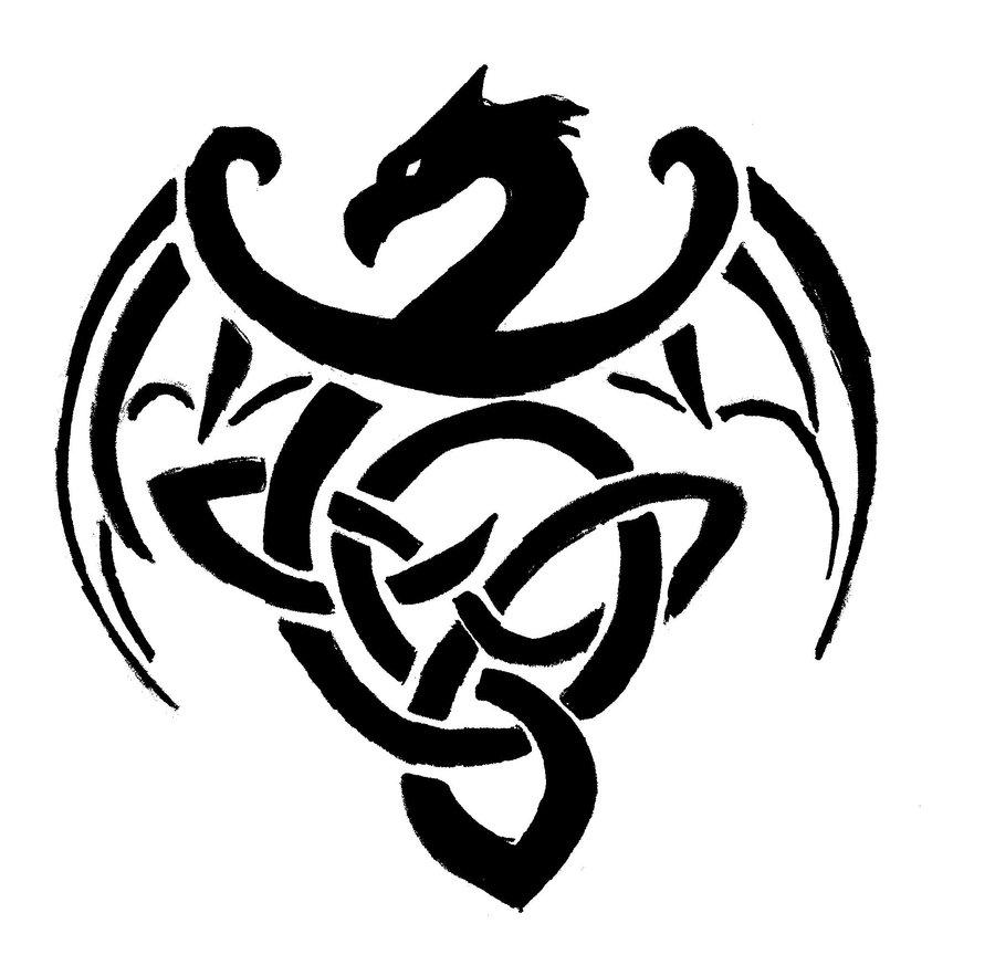 celtic dragon by darianna of tashido by tinqwer on deviantart. Black Bedroom Furniture Sets. Home Design Ideas