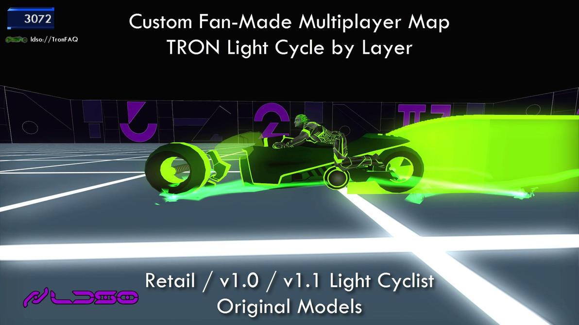 TRON 2.0 Killer App Mod Original LightCyclist by redrain85