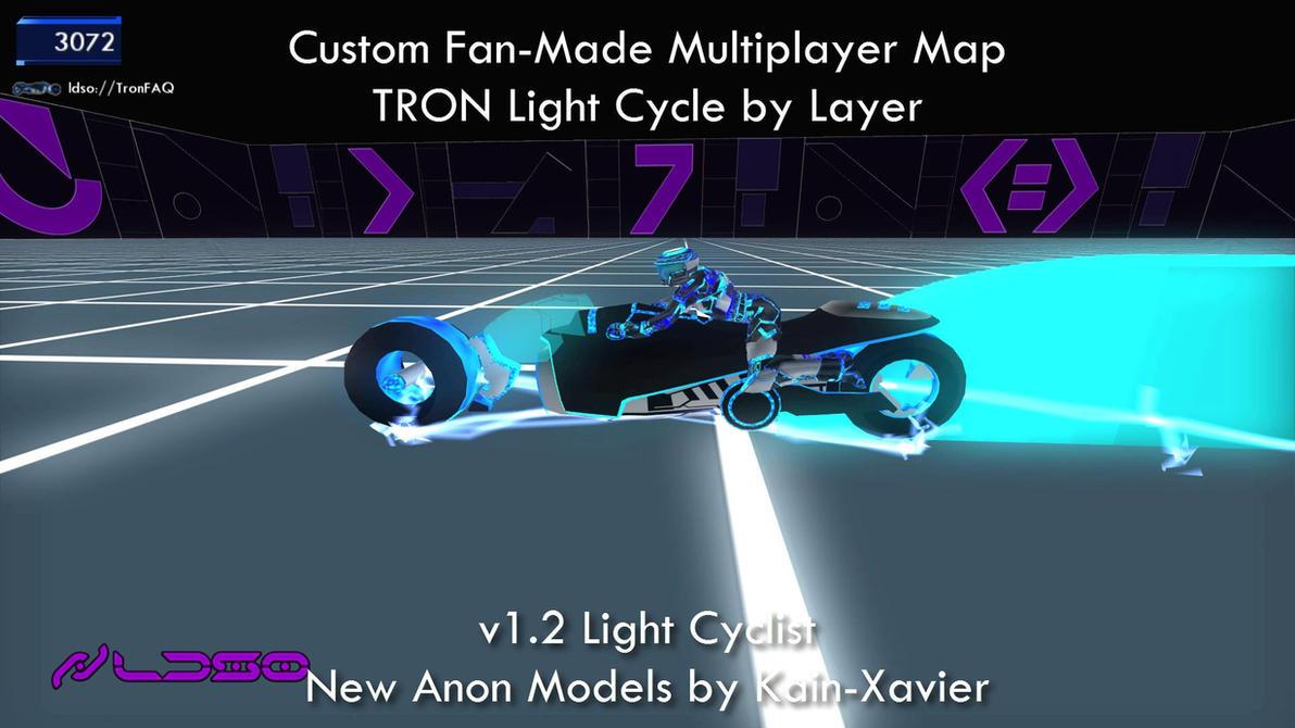 TRON 2.0 Killer App Mod Anon LightCyclist by redrain85