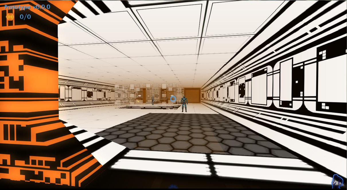 TRON 2.0 UE3 Early Level Design by deeahchur by redrain85