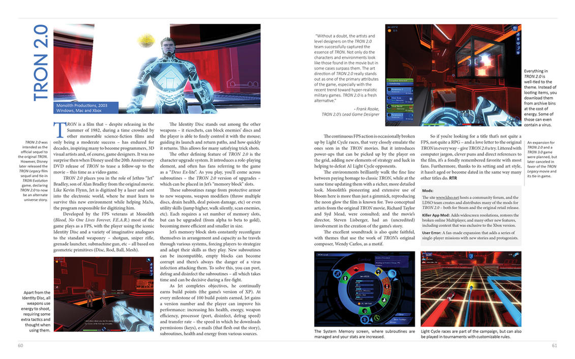 My TRON 2.0 Review for the CRPG Book Project by redrain85