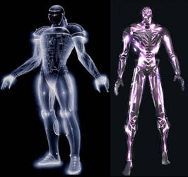 Concept Art inspiration for TRON 2.0 DataWraith?