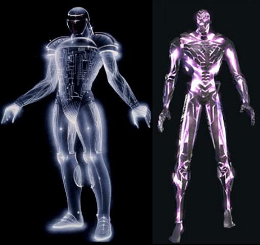 Concept Art inspiration for TRON 2.0 DataWraith? by redrain85