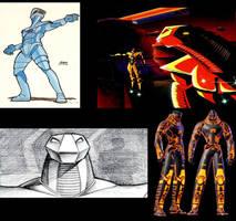 Concept Art inspiration for TRON 2.0 Kernel