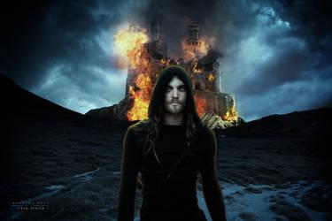 Burning Keep by Firozeh