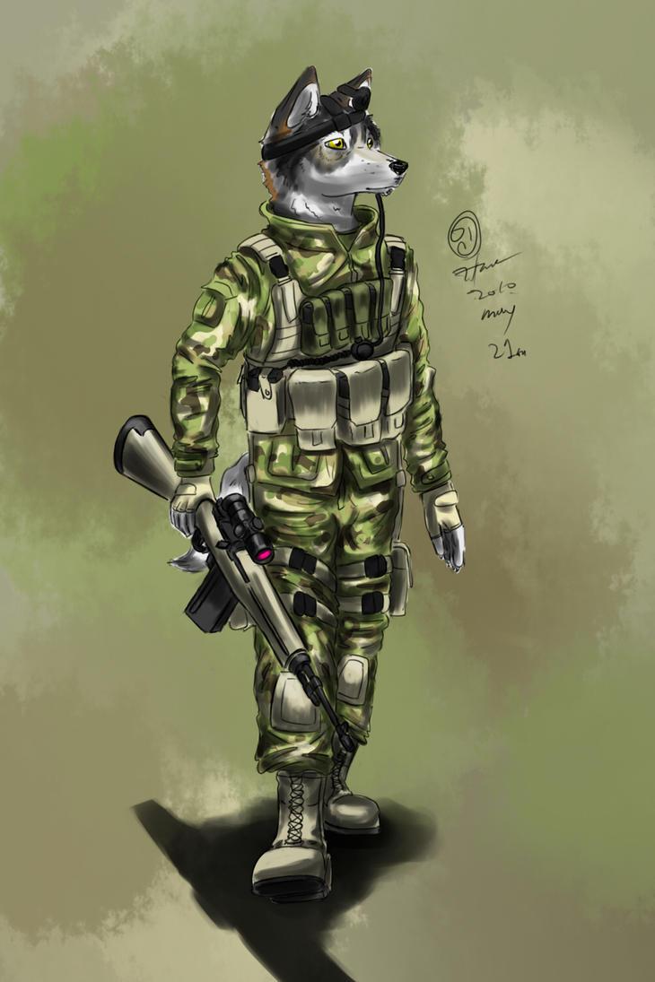 Multicam wolf sniper by kta1540
