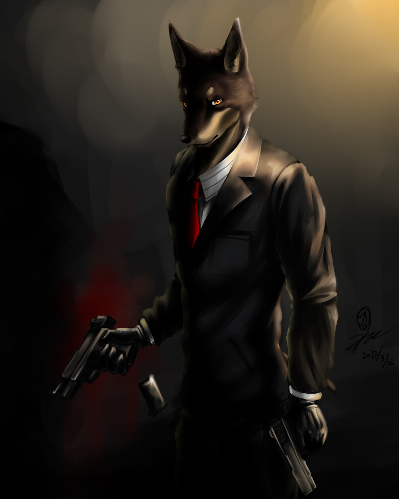 Hitman by kta1540