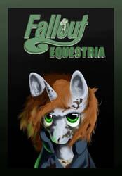 Fallout Equestria Cover Fanart : Little Pip by GasMaskFox