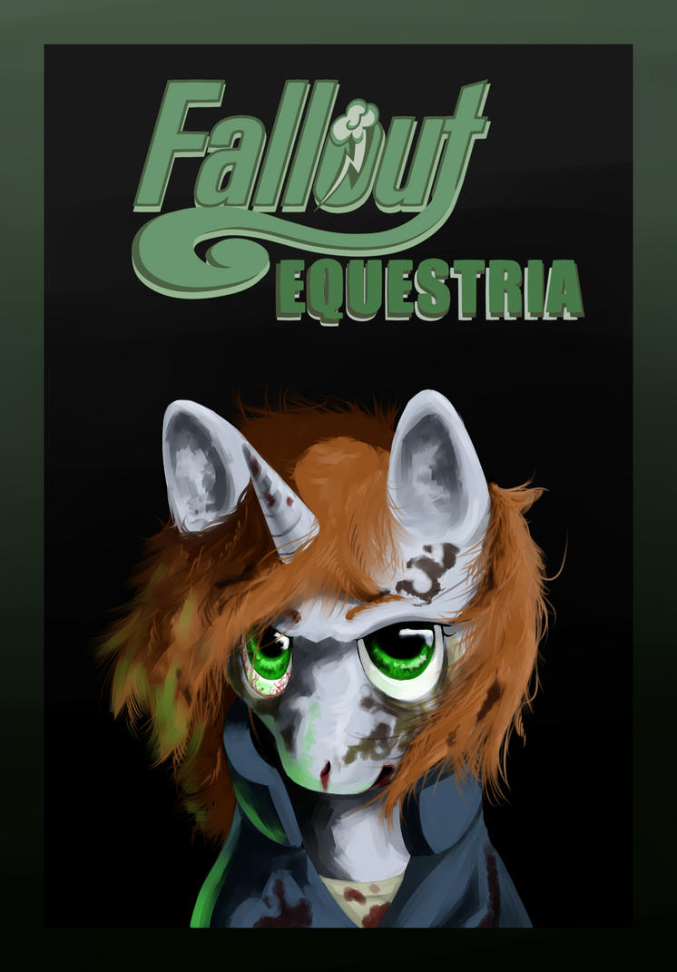 Fallout Equestria Cover Fanart : Little Pip by kta1540