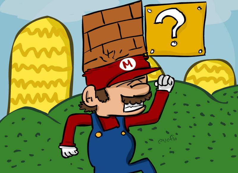 Mario Jump by evoflorent