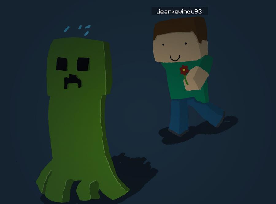 Jean-Kevin vs Creeper by evoflorent