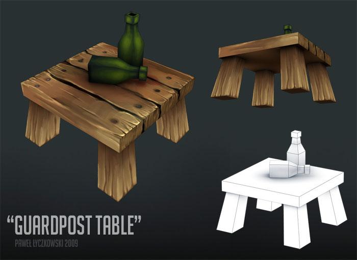 Guardpost - Table by PLyczkowski